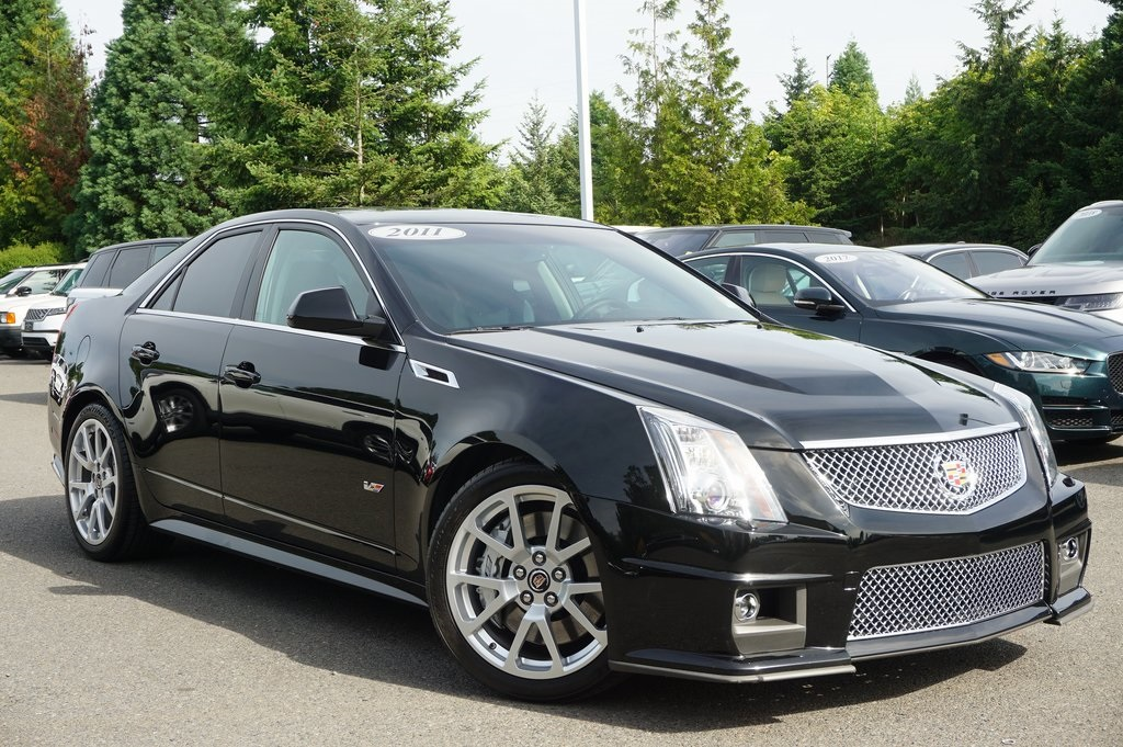 Pre-Owned 2011 Cadillac CTS-V Base