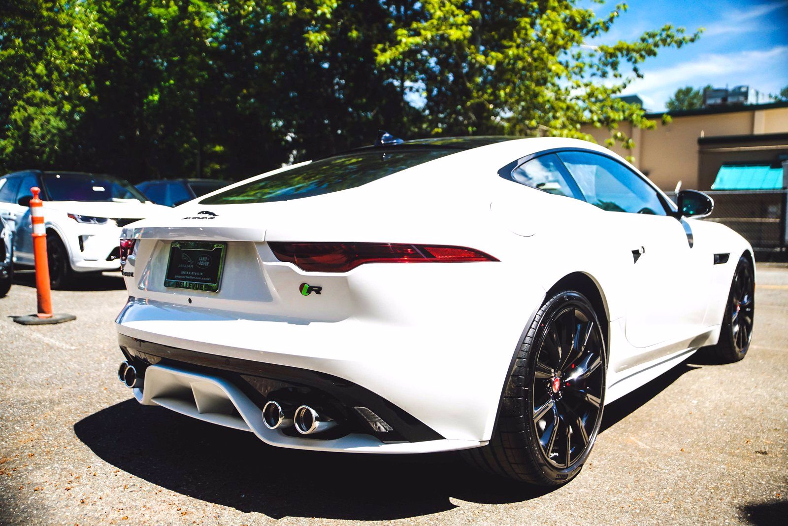 New 2021 Jaguar F-TYPE R 2dr Car in Bellevue #90991 ...