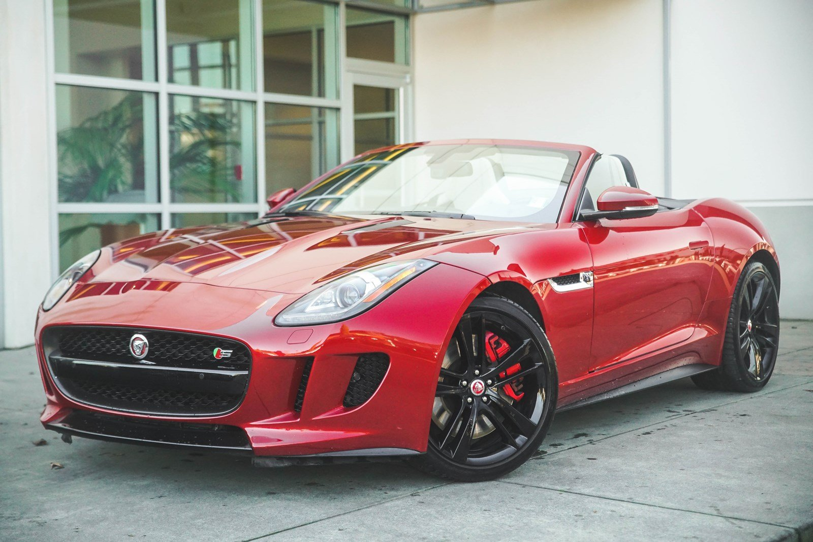Certified Pre-Owned 2015 Jaguar F-TYPE V8 S
