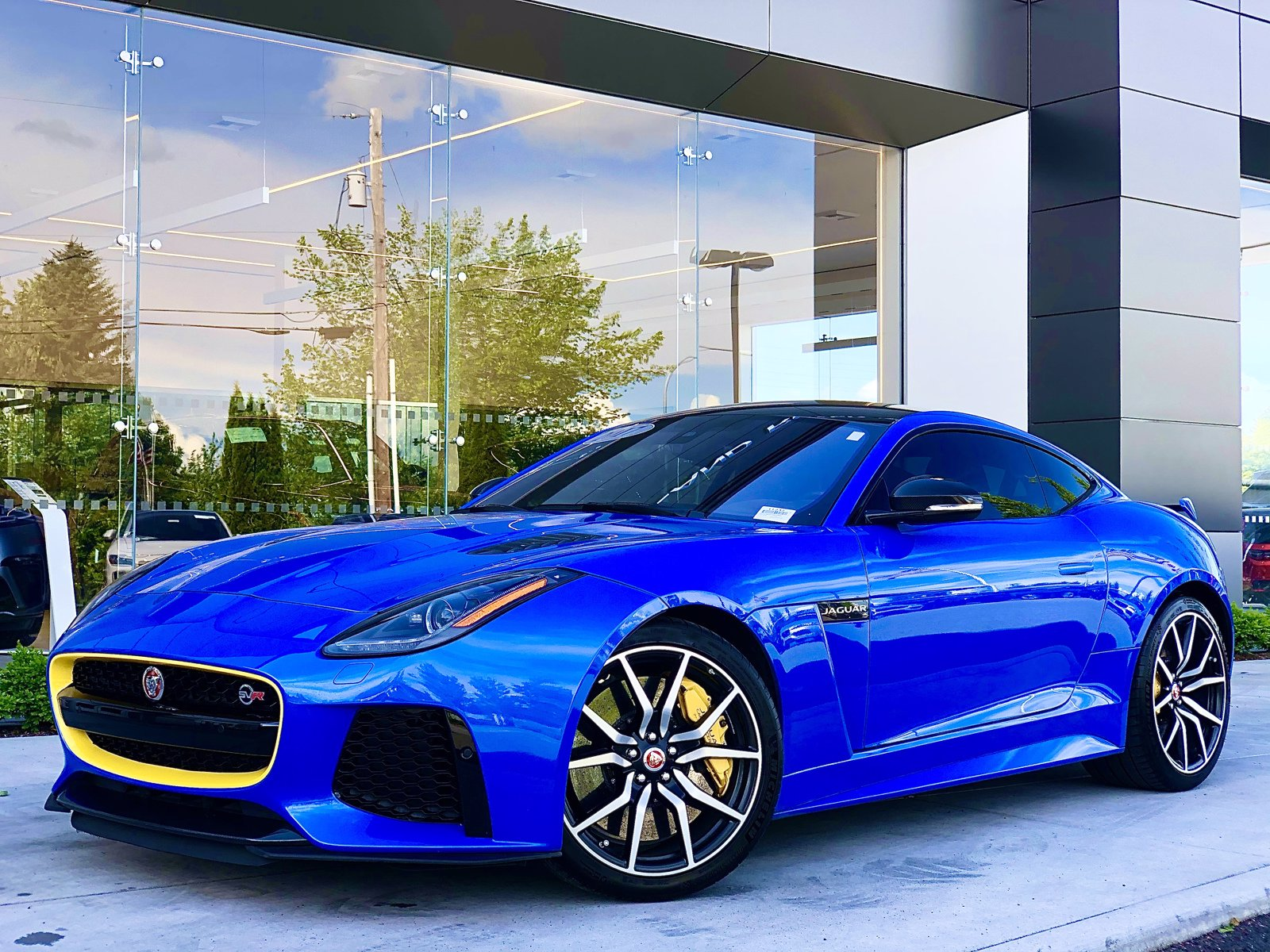 Certified Pre-Owned 2017 Jaguar F-TYPE SVR