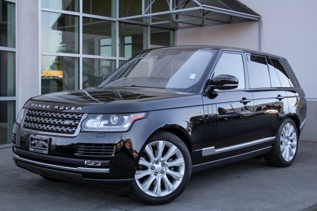 Certified Pre-Owned 2017 Land Rover Range Rover 4DR SUV TD6 DSL S