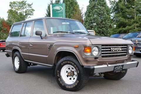 Pre-Owned 1985 Toyota Land Cruiser