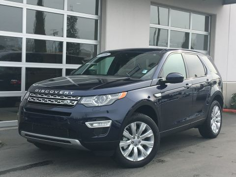 Certified Pre-Owned 2016 Land Rover Discovery Sport HSE LUX