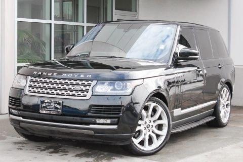 Certified Pre-Owned 2014 Land Rover Range Rover Supercharged